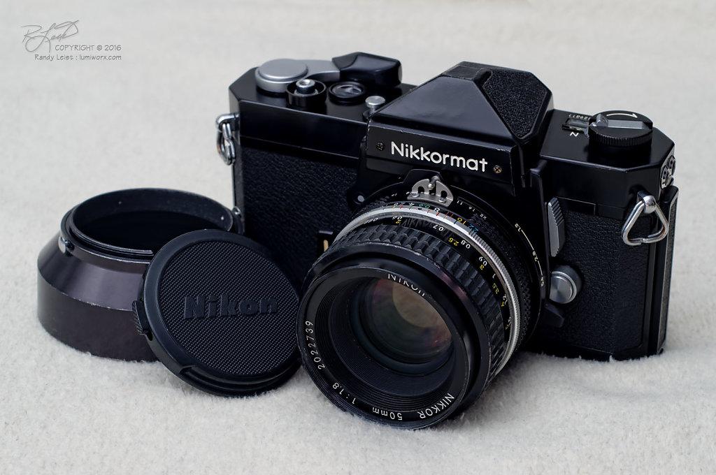 Nikkormat FTn w/ 50mm f/1.8