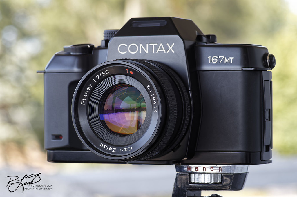 Contax 167MT w/ Carl Zeiss Planar 50mm 1.7