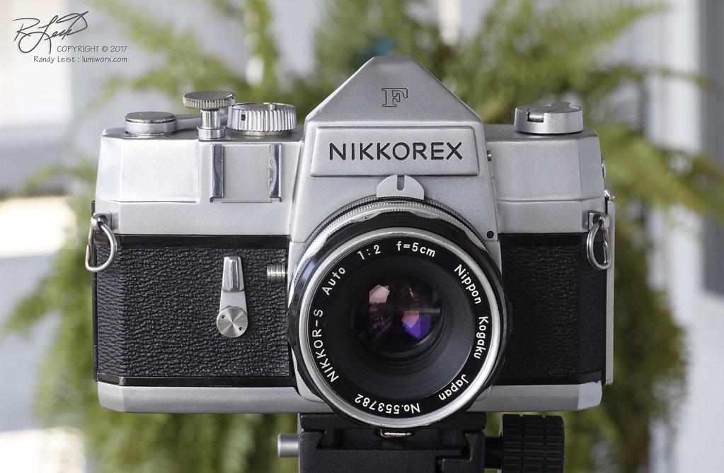 Nikkorex F w/ Nikkor-S Auto 50mm f/2