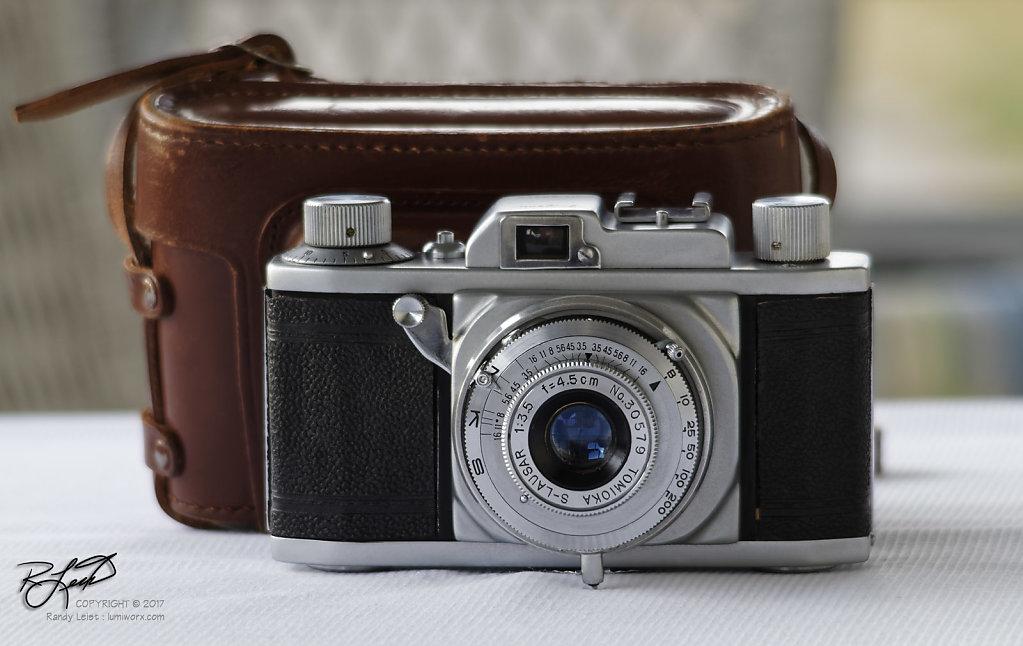 Shinano Pigeon 35 Rangefinder camera