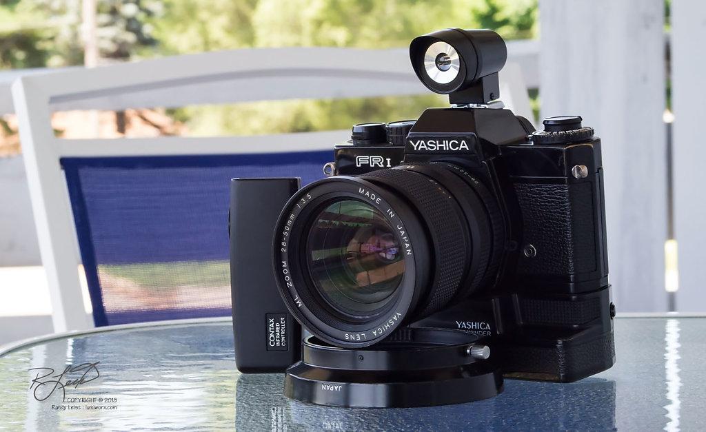 Yashica FR I w/ Yashica ML 28-50mm f/3.5