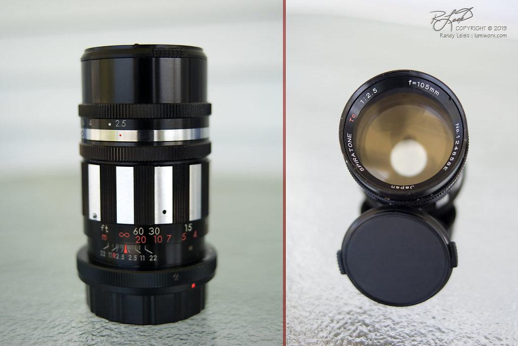 Spiratone 105mm Tc f/2.5
