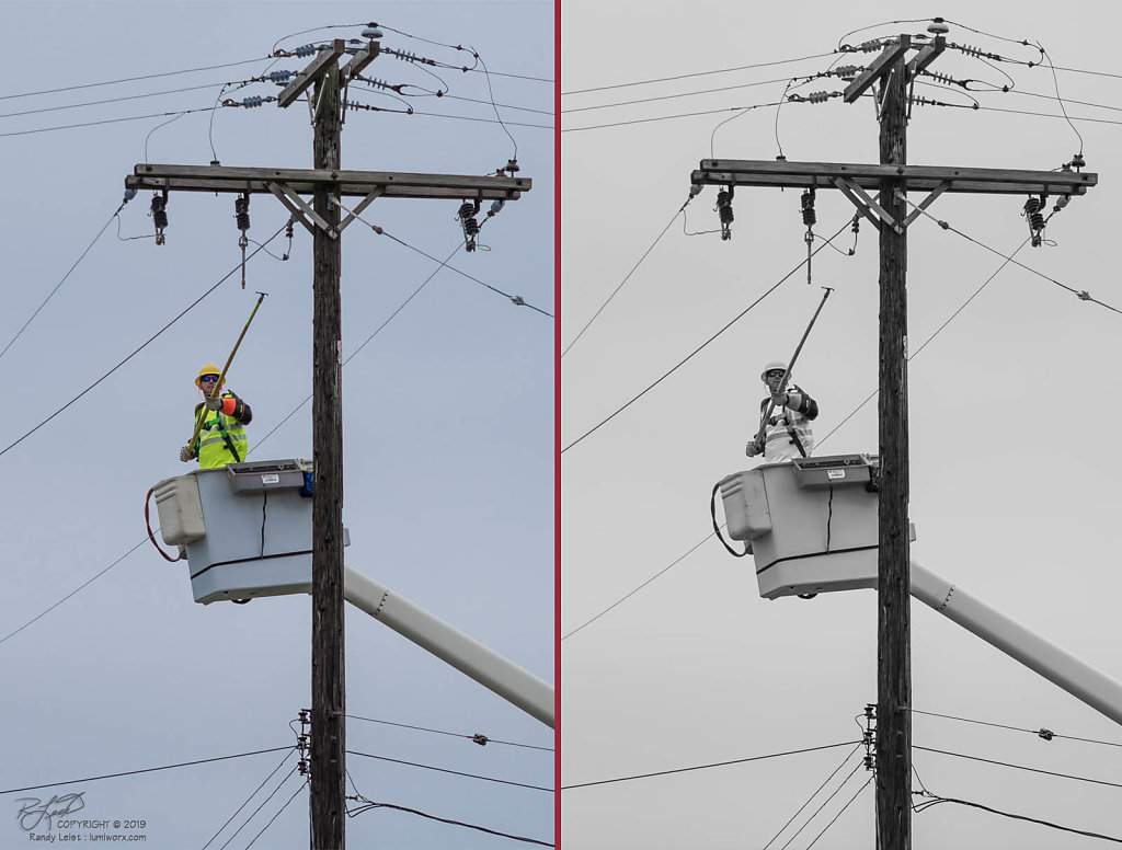 Lineman, at Work