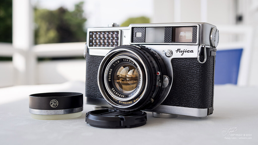 1959-ish Fujica 35-SE Rangefinder w/ upgraded 45mm f/1.9 Fujinon