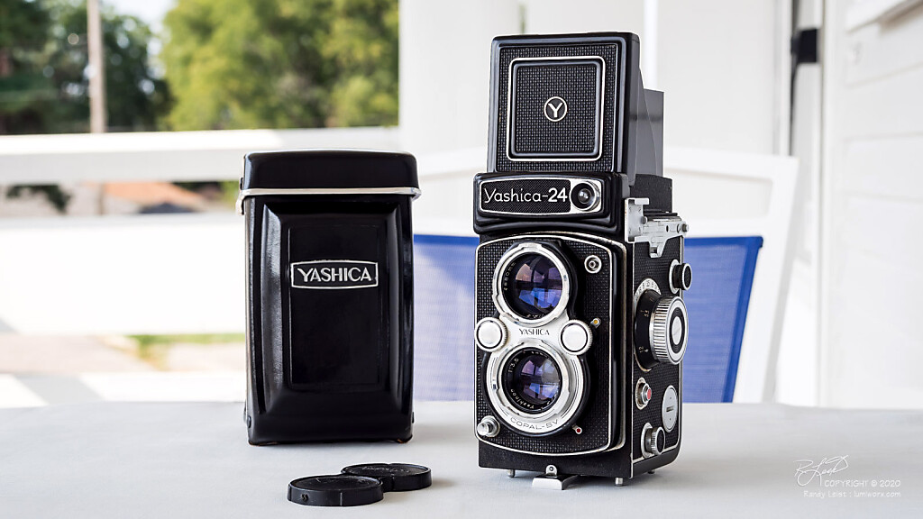 A Yashica-24 Medium Format TLR