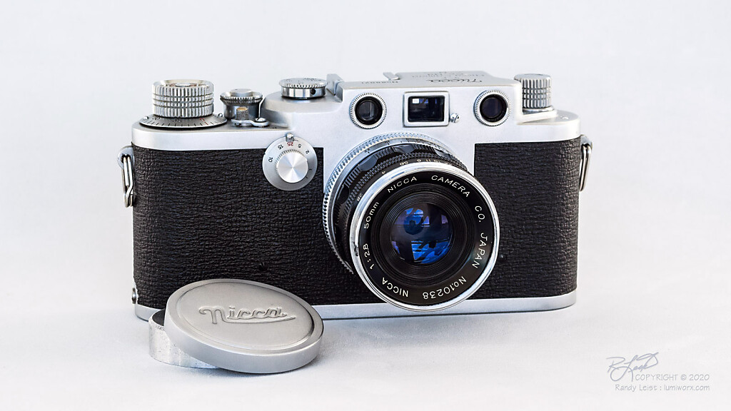 A Nicca 3-F w/ Nicca 50mm f/2.8